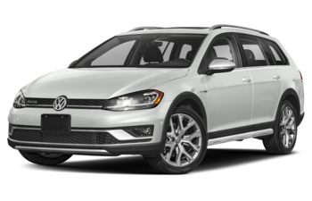2019 Volkswagen Golf Alltrack - Pure White
