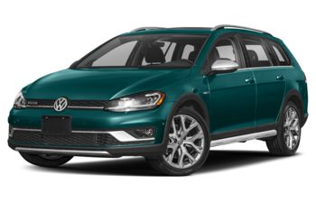 2019 Volkswagen Golf Alltrack - Peacock Green Metallic