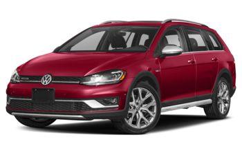 2019 Volkswagen Golf Alltrack - Tornado Red