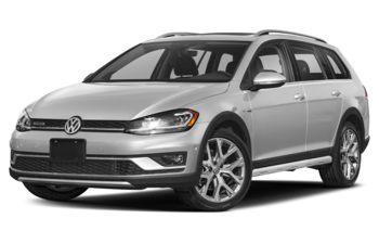2019 Volkswagen Golf Alltrack - White Silver Metallic