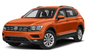 2018 Volkswagen Tiguan - Habanero Orange Metallic