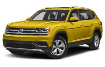 2018 Volkswagen Atlas - Kurkuma Yellow Metallic