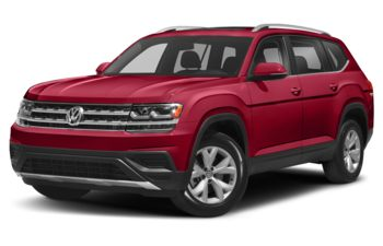 2018 Volkswagen Atlas - Fortana Red Metallic