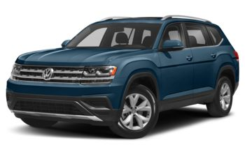 2019 Volkswagen Atlas - Pacific Blue Metallic