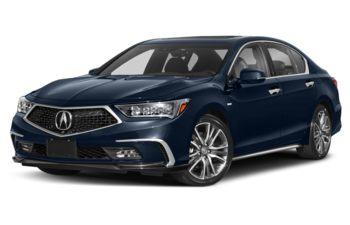 2019 Acura RLX Sport Hybrid - Obsidian Blue Pearl