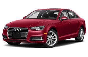 2019 Audi A4 - Matador Red Metallic