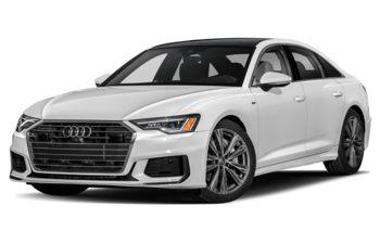 2019 Audi A6 - Glacier White Metallic