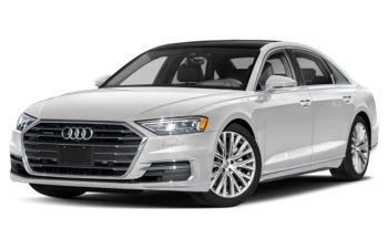 2021 Audi A8 - Glacier White Metallic