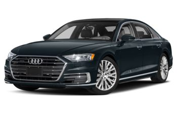2019 Audi A8 - Moonlight Blue Metallic