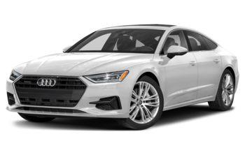 2021 Audi A7 - Glacier White Metallic