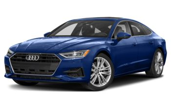 2021 Audi A7 - Triton Blue Metallic