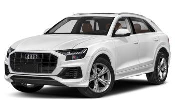 2020 Audi Q8 - Glacier White Metallic