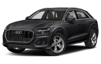 2021 Audi Q8 - Night Black