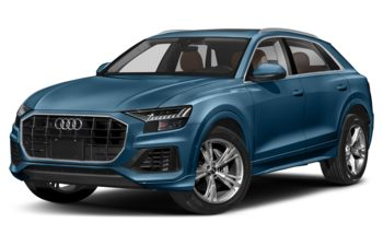 2019 Audi Q8 - Galaxy Blue Metallic