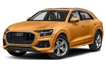 2021 Audi Q8 - Dragon Orange Metallic