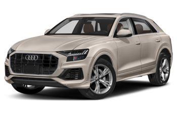 2019 Audi Q8 - Galaxy Blue Metallic