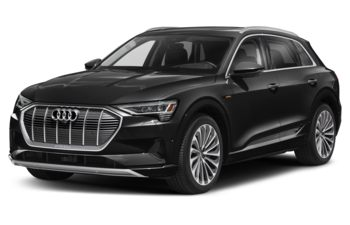 2021 Audi e-tron - Brilliant Black