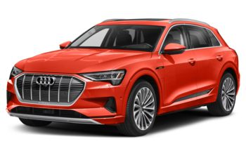 2021 Audi e-tron - Catalunya Red Metallic