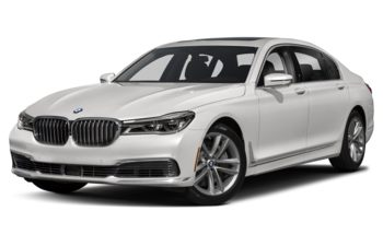 2019 BMW 750 - Brilliant White Metallic