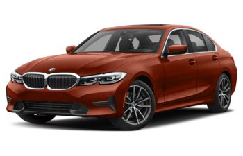 2021 BMW 330 - Sunset Orange Metallic