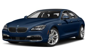 2019 BMW 640 Gran Coupe - Mediterranean Blue Metallic
