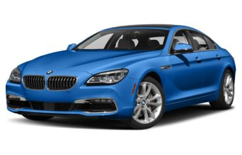 2019 BMW 640 Gran Coupe - Sonic Speed Blue Metallic