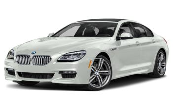 2019 BMW 650 Gran Coupe - Alpine White Non-Metallic