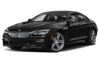 2019 BMW 650 Gran Coupe - Black Sapphire Metallic