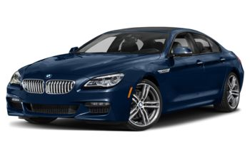 2019 BMW 650 Gran Coupe - Mediterranean Blue Metallic