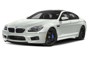 2019 BMW M6 Gran Coupe - Alpine White Non-Metallic