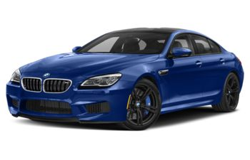 2019 BMW M6 Gran Coupe - San Marino Blue Metallic