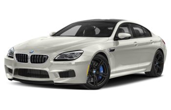 2019 BMW M6 Gran Coupe - Frozen Brilliant White Metallic