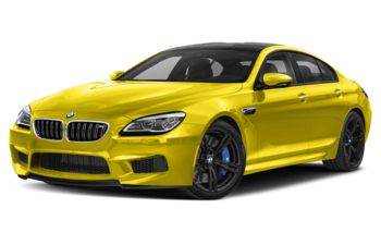 2019 BMW M6 Gran Coupe - Phoenix Yellow Metallic