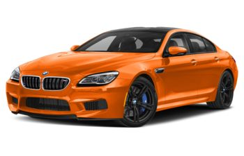 2019 BMW M6 Gran Coupe - Fire Orange