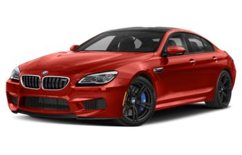 2019 BMW M6 Gran Coupe - Frozen Red