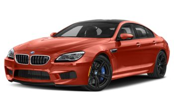 2019 BMW M6 Gran Coupe - Valencia Orange Metallic