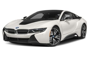 2020 BMW i8 - Crystal White Pearl w/Frozen Grey Accent