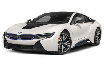 2019 BMW i8 - Crystal White Pearl w/BMW i Frozen Blue Accent