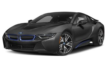 2019 BMW i8 - Sophisto Grey Metallic w/BMW i Frozen Blue Accent