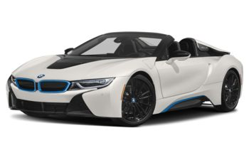2020 BMW i8 - Crystal White Pearl w/BMW i Frozen Blue Accent