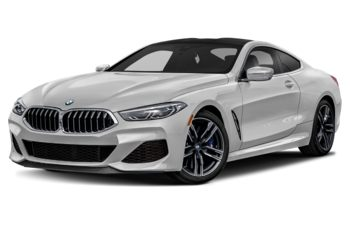 2020 BMW M850 - Mineral White Metallic