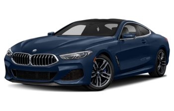 2020 BMW M850 - Sonic Speed Blue Metallic