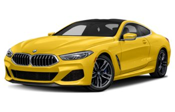 2020 BMW M850 - Speed Yellow