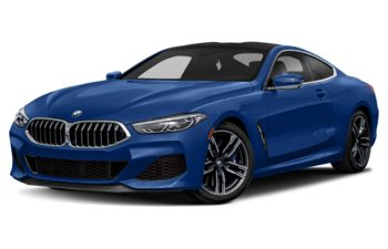 2020 BMW M850 - Frozen Marina Bay Blue