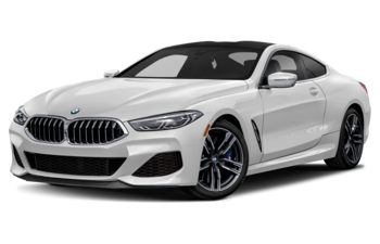 2019 BMW M850 - Brilliant White Metallic