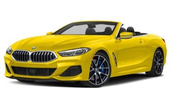 2020 BMW M850 - Speed Yellow
