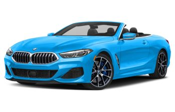 2021 BMW M850 - Laguna Seca Blue