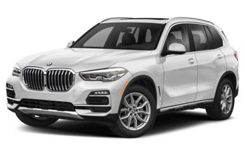 2021 BMW X5 - Mineral White Metallic