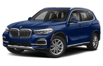 2021 BMW X5 - Tanzanite Blue Metallic