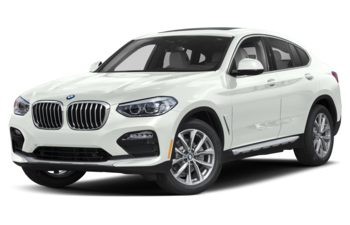 2019 BMW X4 - Alpine White Non-Metallic